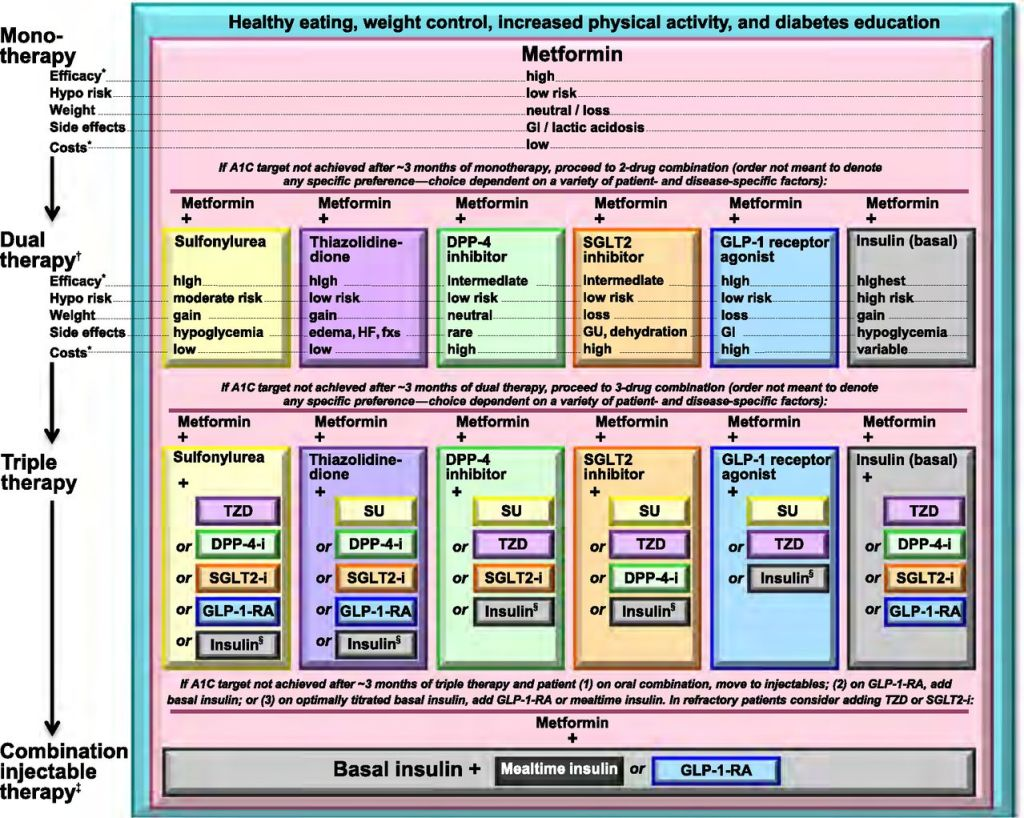 Diabetes Treatment Algorithm Time Of Care