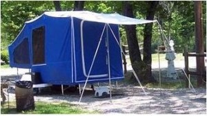 Time Out Trailers | Camper Accessory  Awning Over Door