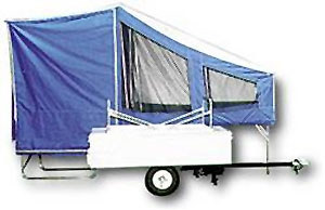 Time Out Trailers | EASY Camper | Motorcycle Camper
