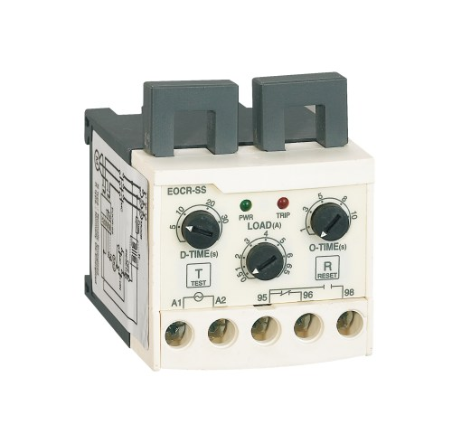 small resolution of the eocr ss is an overcurrent relay with ultra small timing limit operating characteristics the current sense signal is obtained by using the main loop