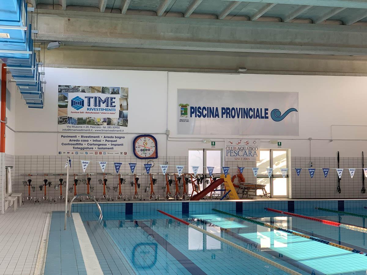 Piscina provinciale Pescara – Time Rivestimenti