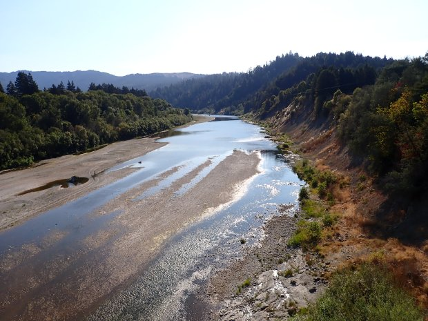'Bone dry': South Fork disconnected from Eel River for first time in modern history