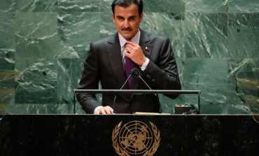 New York, obraćanje katarskog emira Nj.V. Tamim bin Hamada Al Tanija na Generalnoj skupštini UN-a