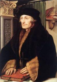 Erasmus_Hans Holbein de Jonge
