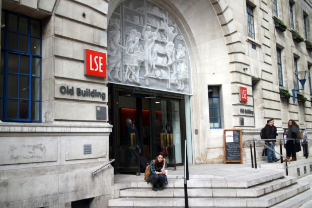 The London School of Economics and Political Science (LSE) sebagai kampus terbaik ketiga untuk S2 Komunikasi