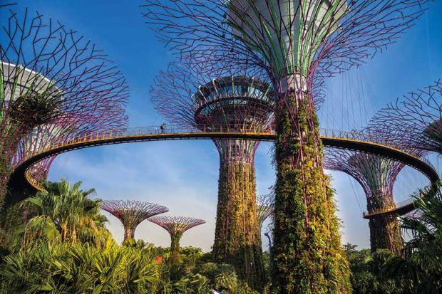 Jardines junto a la bahía, Singapur
