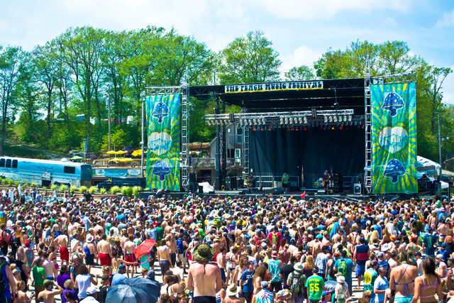 Peach Music Festival will return to the Pavilion at