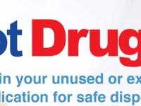 Got Unused Drugs? Dispose at National Drug Take Back Day