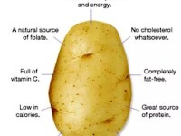 Potatoes Can Help Reduce Blood Pressure, Help Loose Weight and Reduce Risk Of Cancer