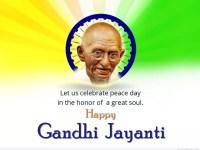 Mahatma Gandhi influences the world: Gandhi Jayanti celebrated grandly.