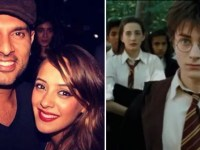 Hazel Keech, wife of Indian cricketer Yuvraj Singh, acted in 3 Harry Potter movies