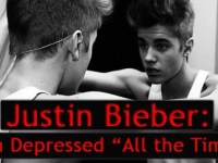 Why is Justin Bieber down and tired?
