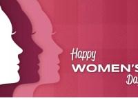Happy International Women's Day background concept.
