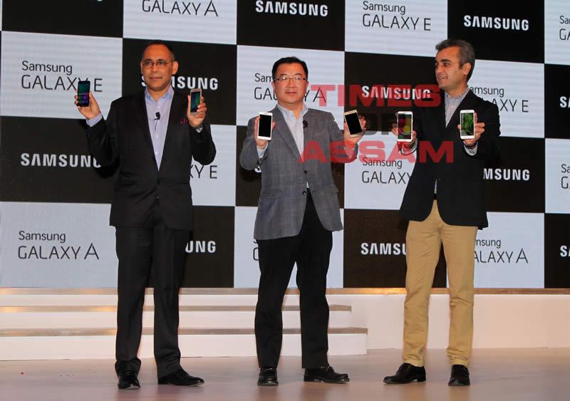 Samsung Galaxy A5, A3, E7 and E5 launch