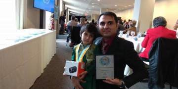 5 year old Child from Pakistan wins Global Award