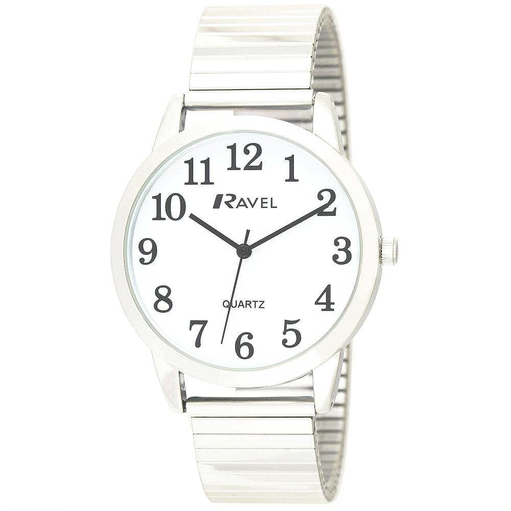 Men's Classic Arabic Expander Bracelet Watch (R0232GA) by