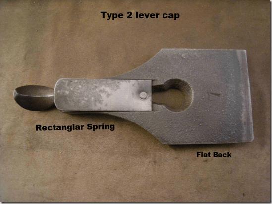 Stanley #7 Type 2 lever cap