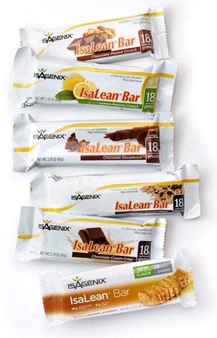 Isagenix Isalean Bars  A Better Meal Replacement Bar