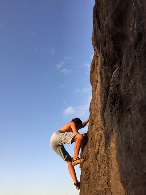 North Shore Oahu Rock Climbing