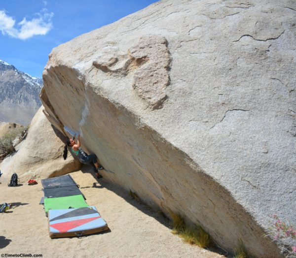 Bouldering In Bishop Buttermilks