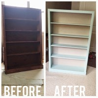 Chalk Paint Bookcase | Annie Sloan Chalk Paint Bookcase ...