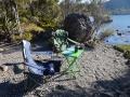 Weihnachtsfrühstück am Lake Rotoiti