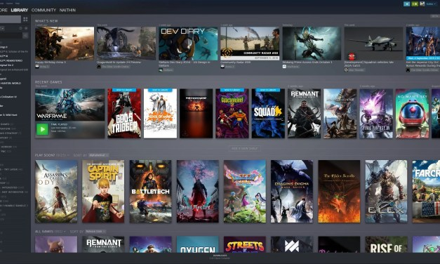Steam Library Update is Here!