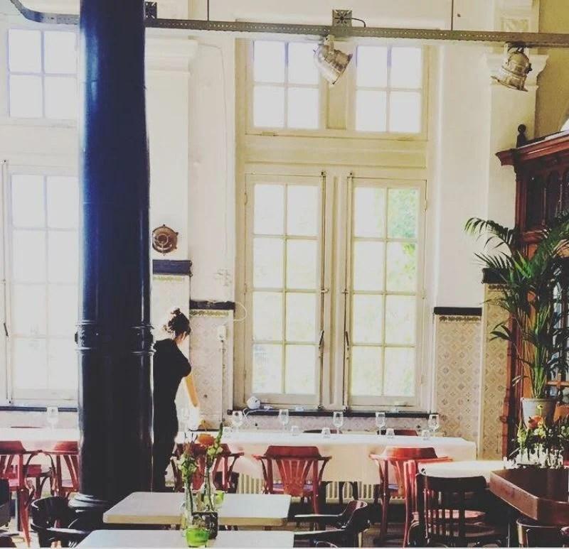 Den Haag De Hagedis goed en lekker vegetarisch vegan restaurant