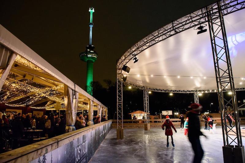 December in Rotterdam