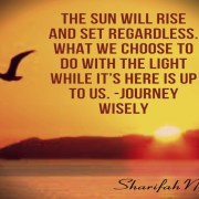 sun will rise and set