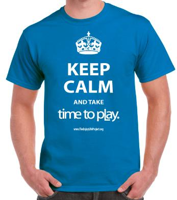 Buy Keep Calm & Take Time to Play T-Shirt