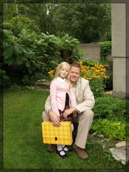 1. sept. 2009, Elina koolipäev