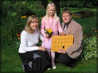 1. sept. 2007, Kertu läks kooli