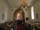 Pühalepa kirik ja Hiiu Folgi pühapäevahommikune kontsert.