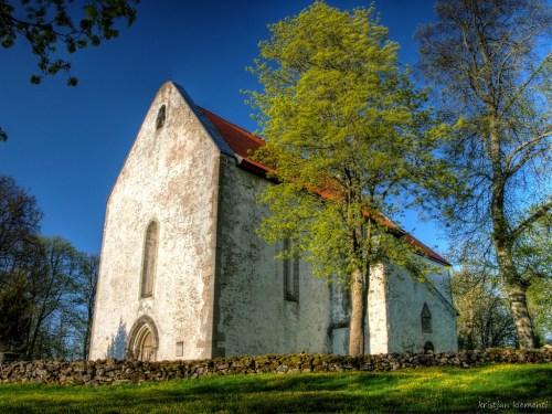 Karja kirik, Saaremaa