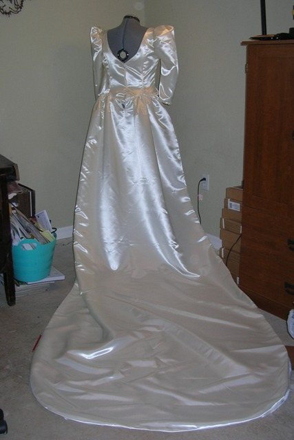1980s Fergie Wedding Gown Butterick 4743  Costume Diaries  Time Travel Costumes  Historically