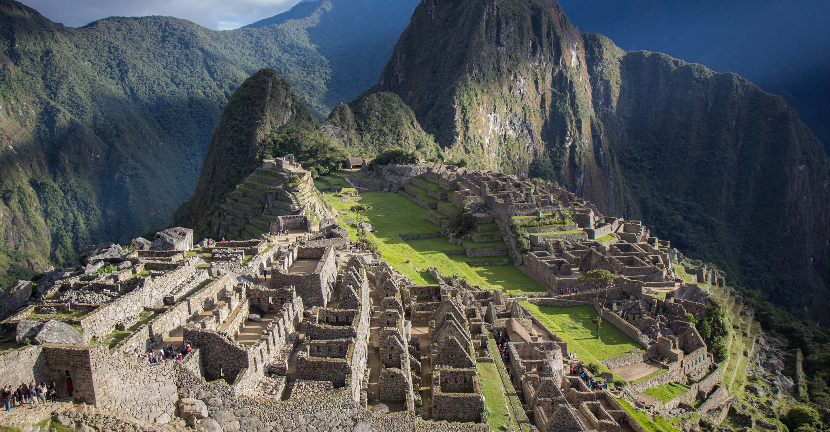 visiting machu picchu in