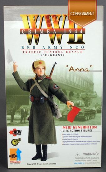Anna Red Army Traffic Control Dragon Models 70283