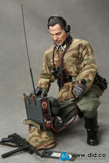Sergeant Major Wolfram German Radio Operator 1942