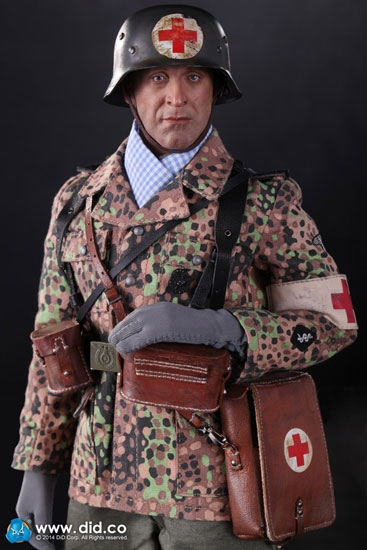 Peter WWII German Waffen SS Medic in 16 Scale