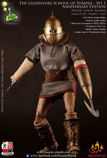 Gladiator School of Pompeii First Anniversary 16 Figure