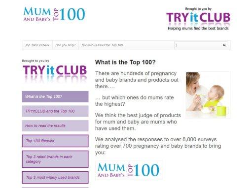 Mum's Top 100