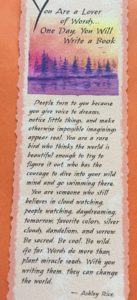 #inspiration, mementos, bookmark, dreams