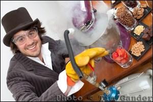 Bristol ice cream maker Charlie Francis