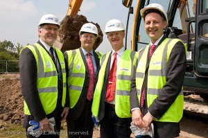 Group photo featuring David Willetts MP