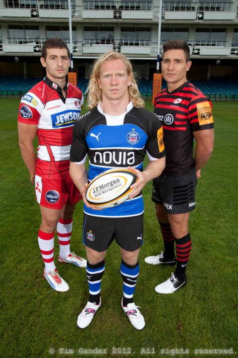Rugby Sevens team captains in Bath