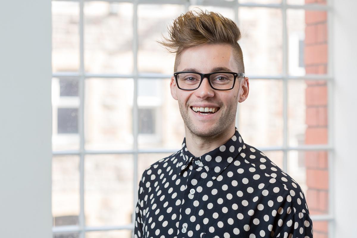 14/10/2015 Calvium Ltd, mobile app development agency in Prince Street, Bristol, UK. Portrait: Kieron Gurner.