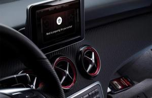 NEST smart thermostat integration with Mercedes Digital DriveStyle app