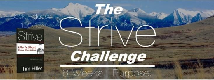 The Strive Challenge Banner