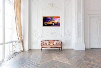 Bronze Cruisin' in the ballroom (Ferrari GTS 365, 1969)